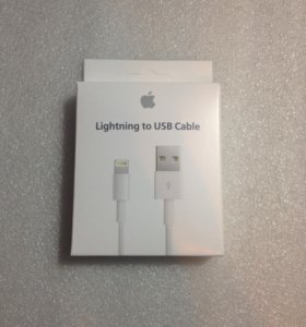 Apple MD818FE Lighting to USB 1m Оригинал-кабель