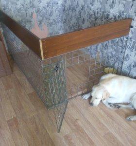 Сборный вольер для собак и щенков