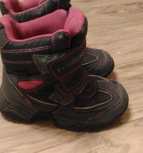 Детские зимние ботинки 28