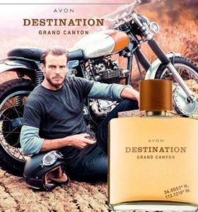 Avon DESTINATION мужской парфюм 75мл