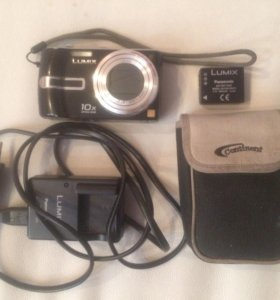 Panasonic LUMIX DMC-TZ3 (нужен небольшой ремонт)