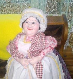 Кукла на чайник ручная работа