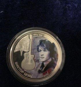 Монета 10 долларов
