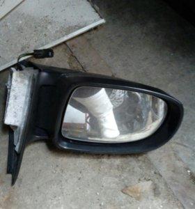 Левое зеркало для Opel Omega B