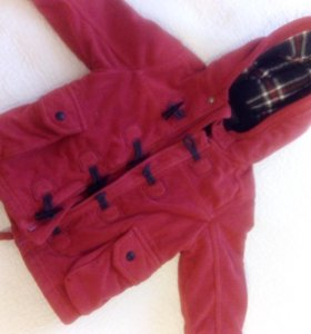 Куртка теплая на 12-18 месяцев