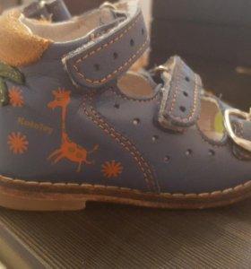 Артопедические ботиночки фирма Котофей