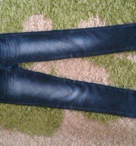Зимние джинсы детские  24 размер