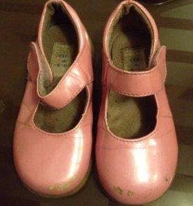 Туфельки лак-кожа, 15 см по стельке