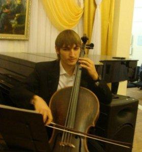 Живая инструментальная музыка (виолончель)