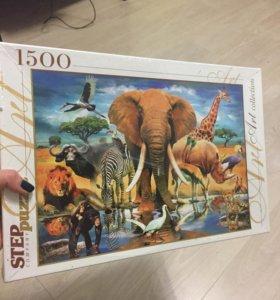 Пазлы 1500 деталей