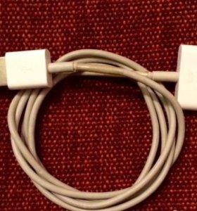 iPhone 4 4S кабель зарядки оригинал б.у 1шт