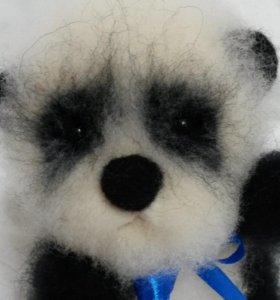 Войлочные мишки панда