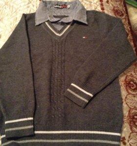 Джемпер-рубашка