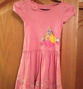 Домашнее платье Дисней, 5-6 лет