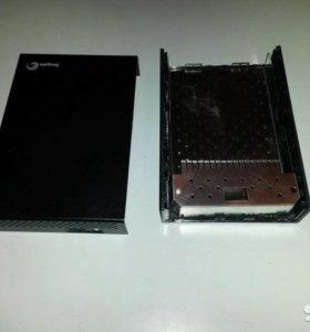 SATA 500 GB Samsung и Контейнер для подкл 2.5-3.5