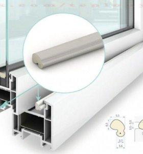 Окна без сквозняков(замена уплотнителя)