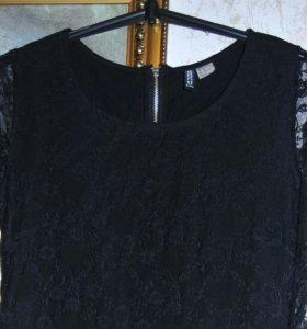 H&M кружевное платье