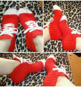 Носки-кеды женские в наличии