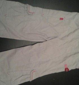штаны вельветовые новые