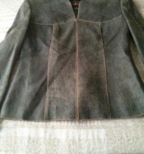 Куртка кожаная нлвая
