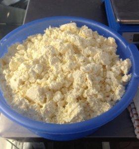 Молоко домашнее, сыр, творог, сливки