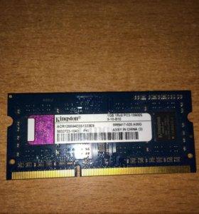 ОЗУ для Ноутбука 1gb DDR3