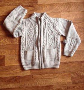 Тёплые штаны +кофта