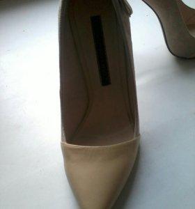 Новые кожаные туфли 37