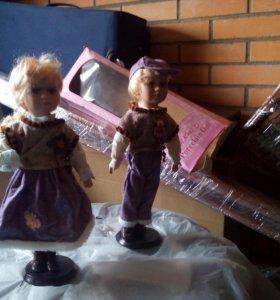 Фарфоровые куклы (2шт)