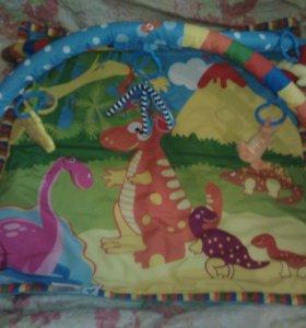 Детский игровой коврик