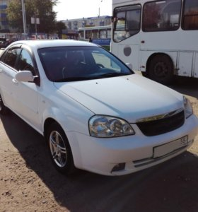 Chevrolet Lacetti 1.6МТ, 2007, седан
