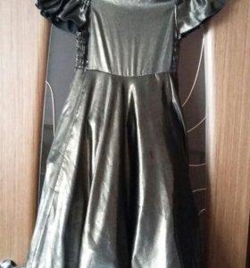 Нарядное платье на девочку 10-12 лет