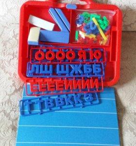 Буквы и цифры на магните новые