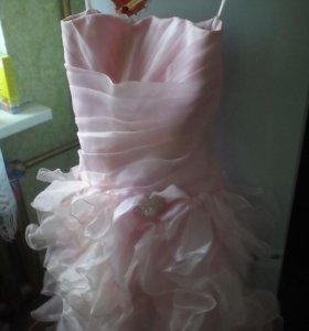 Платье корсетом(на любой размер)