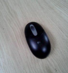 Мышка без ресивера logitech