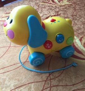 Собака-каталка музыкальная WinFun