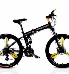 Брендовый велосипед