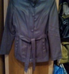 Куртка кожзам, хорошего качества,осень, весна.