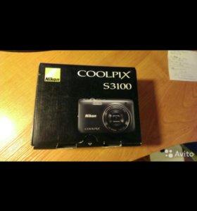 Фотокамера COOLPIX S3100