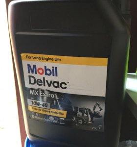 Масло моторное MOBIL DELVAC MX EXTRA 10W40 20л п/с
