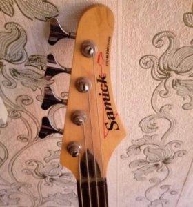 Басс-гитара Samick