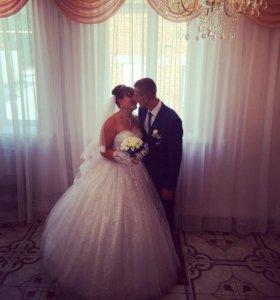 Свадебное платье весь комплект