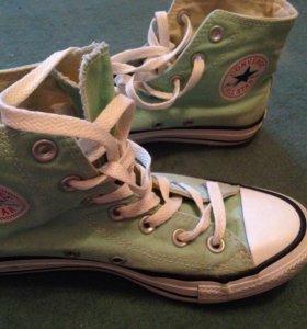 Кеды Converse мятного🍃цвета
