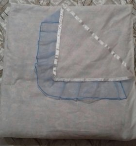 Теплое одеяло на выписку и уголок
