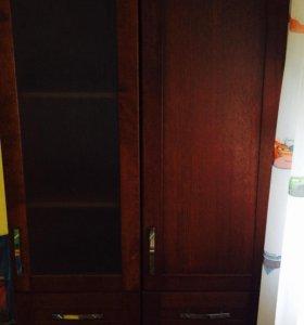 Шкаф из массива дуба