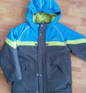Куртка осень-зима.Рост 128