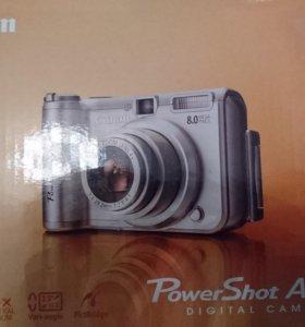 Фотоаппарат Canon PowerShit A630