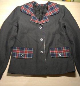 Пиджак школьный (на девочку)