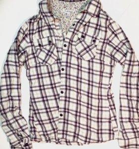 Рубашка Casual Modis в клетку