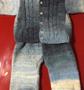 Детский мохеровый костюм